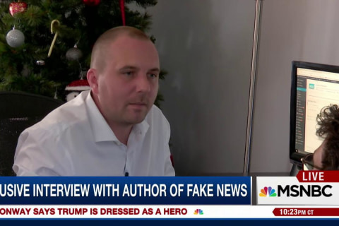 Fake News Creator: I Voted for Hillary Clinton