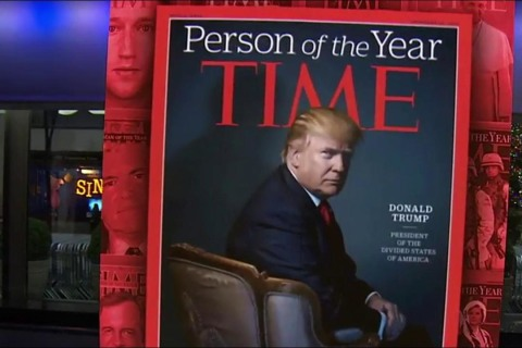 President-elect Donald Trump is TIME Person of the Year for 2016