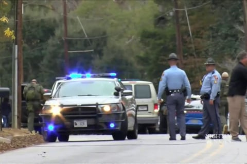 Two Officers Shot in Georgia, Manhunt for Gunman Underway