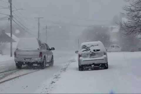 Siberian Express: Blast Brings Snow, Ice to Large Sections of U.S.