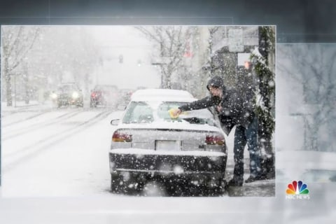 Arctic Blast Dropping Temps Below Normal in 45 U.S. States