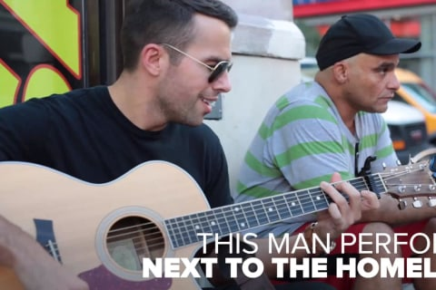Musician helps the homeless get off the streets one song at a time