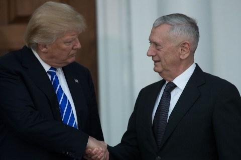 Donald Trump reveals pick of James 'Mad Dog' Mattis for secretary of defense