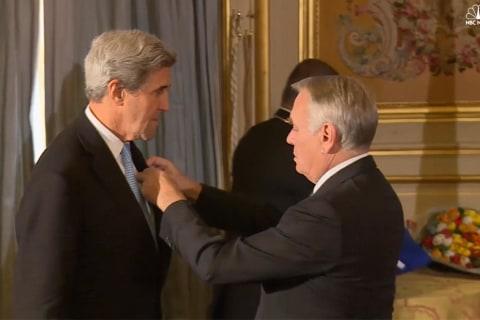 John Kerry Awarded France's Legion of Honor