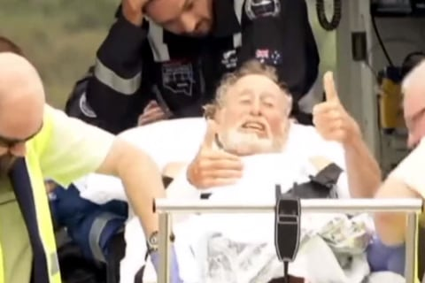 65-Year-Old Surfer Still Smiling Despite Shark Attack