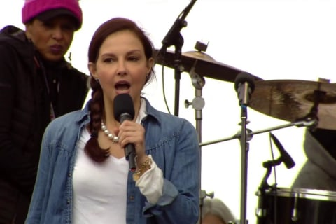 Ashley Judd's Fiery 'Nasty Woman' Speech Takes Aim at Sexism, Racism