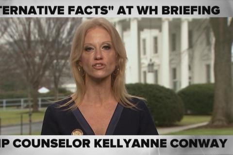 'Alternative Facts:' Kellyanne Conway Defends Press Secretary