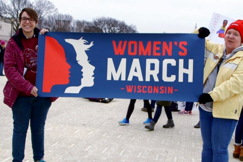 Together, This Mother and Daughter Organized Wisconsin Women Who Marched in Washington
