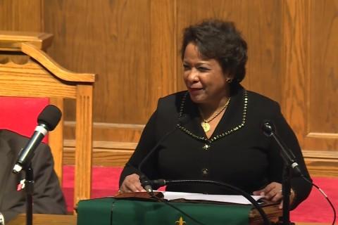 Loretta Lynch Delivers Final Speech as Attorney General