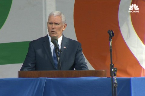 Pence at March for Life: Society Judged 'By How We Care for Our Most Vulnerable'