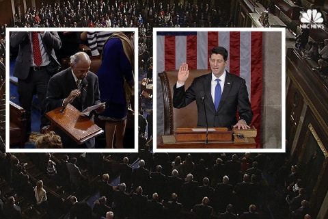 Paul Ryan Officially Sworn in as House Speaker for 115th Congress