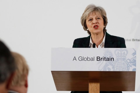 'Brexit' Defined -- Finally -- By British PM May