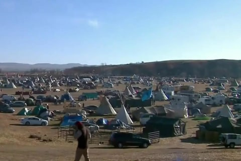 Arrests at Standing Rock As Protesters' Eviction Deadline Passes