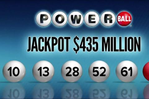 Winning $435 Million Powerball Jackpot Ticket Sold in Indiana