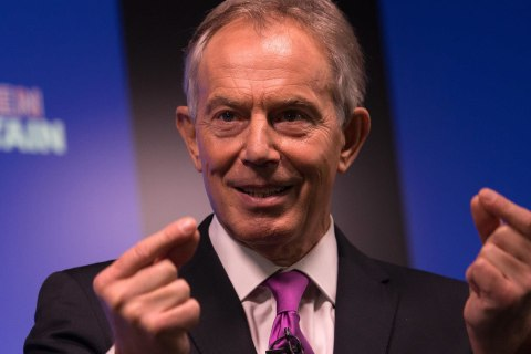Tony Blair: It's Time for Brexit Opponents to Rise Up