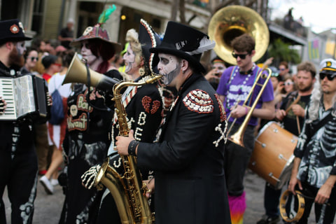 Watch Live: Mardi Gras Parades in New Orleans