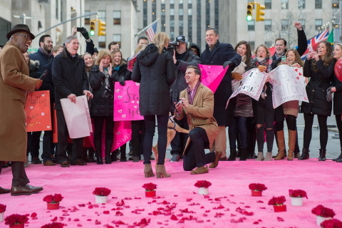 Woman Gets Surprise Valentine's Day Proposal Live on TODAY