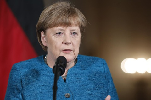 Merkel on Trump: We Were Elected 'To Find A Compromise'