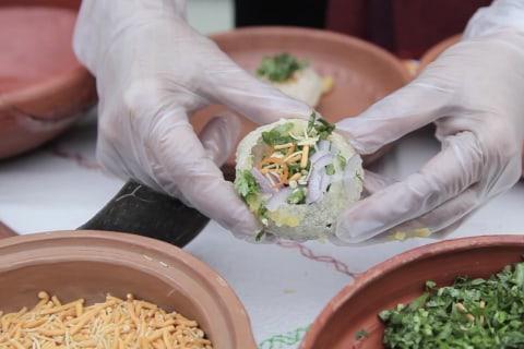 Bangladeshi-American Entrepreneurs Bring Food, Culture Together for Pop-Up Stand