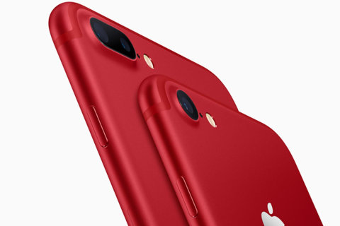 Apple Introduces Red iPhone to Help in Fight Against AIDS