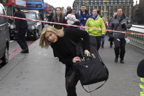 Eyewitnesses Describe Chaos During London Attack
