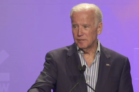 Joe Biden Gives Emotional Speech About Fighting Cancer at SXSW