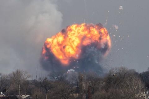 Tank Ammunition Depot Blown Up By Saboteurs