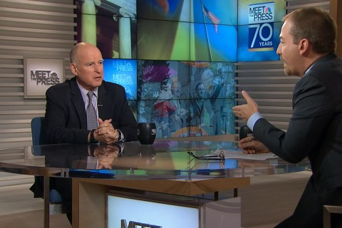 Gov. Jerry Brown to Trump: 'You Don't Want to Mess With California'