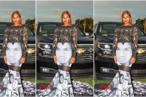 Prom Dress Makes a Black Lives Matter Statement