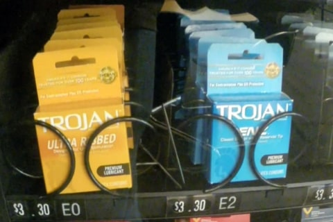 Vending Machine Surprise: Contraception On Campus