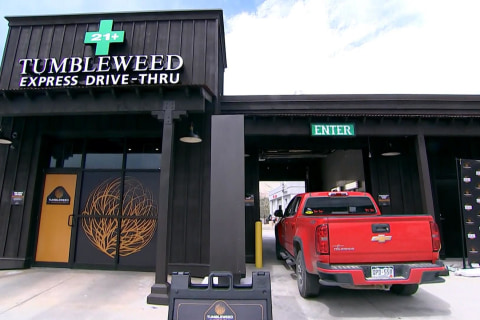 Take the High Road: First Drive-Thru Pot Shop Opens