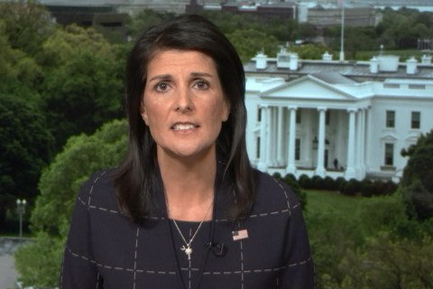 Nikki Haley to N. Korea: 'Don't Give Us a Reason' to Fight