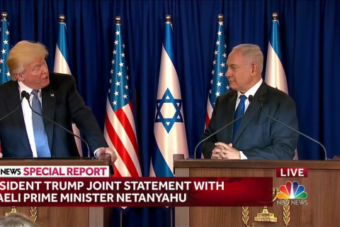 Trump Emphasizes 'Shared Hope for an Israel at Lasting Peace'