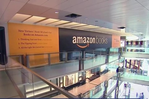 Amazon Opens First New York Brick and Mortar Book Store