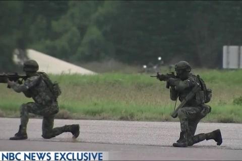 NBC News Exclusive: A Look at Taiwan's Military Drills as China Looms