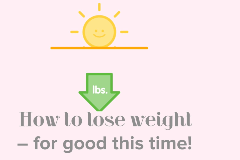 How to Lose Weight - For Good!