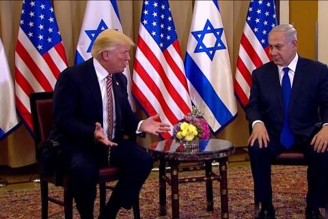 Trump to Netanyahu: Iran's Aggression Has Forced Saudi Arabia, Israel Bond