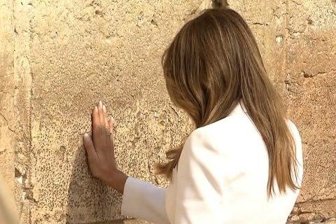 First Lady Melania,  Ivanka Trump Visit The Western Wall