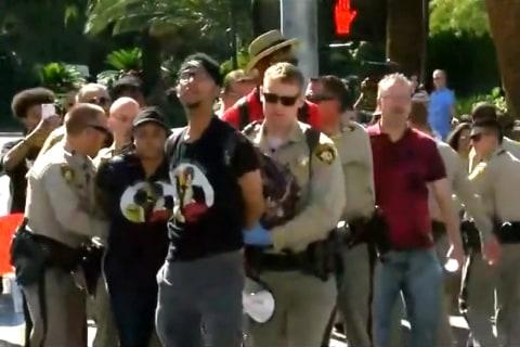 Violence Erupts During Vegas Black Lives Matter Protest, 10 Arrested