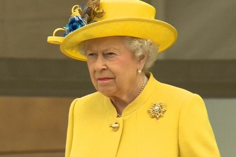 Queen, Prince Philip Observe Moment of Silence for Manchester Victims
