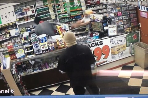 Store Owners Fights Back Against Robbers