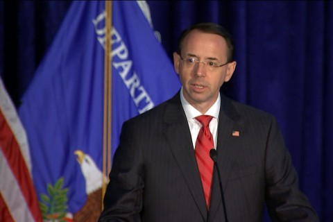 Deputy AG Rosenstein: 'Hard Labor in North Korea Means Torture'