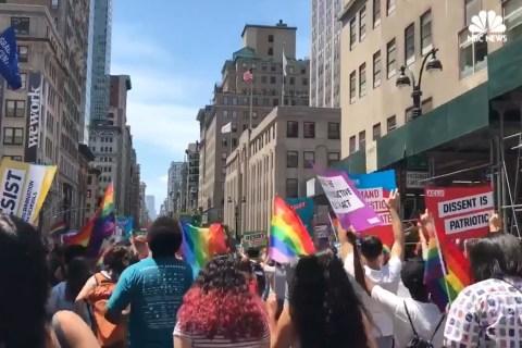LGBT Pride Parades Held Across U.S.