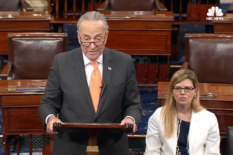 Schumer Challenges Trump to a Health Care Meeting and The President Responds