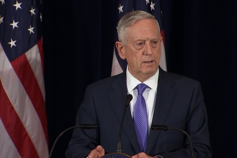 Mattis: China, U.S. Share Common 'End State' on Nuclear North Korea