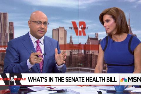 Senate health bill focuses more on tax breaks