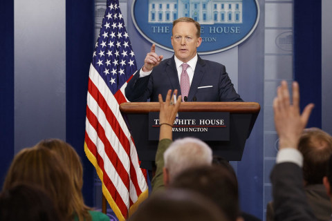Watch Live: White House Press Briefing with Sarah Huckabee Sanders, Rick Perry