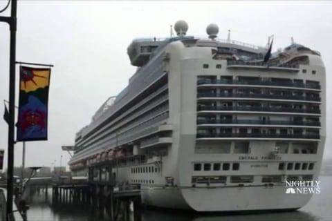 Man Allegedly Kills Wife During Cruise Off Alaska