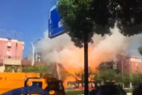 At Least Two Killed in China Gas Canister Explosion