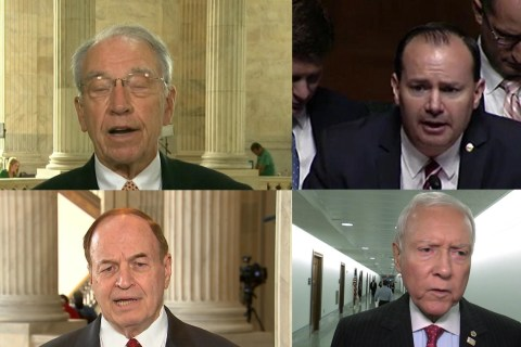 GOP Senators Stick up for Sessions in Wake of Trump Attacks